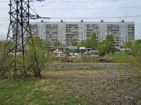 Новосибирск, улица Лебедевского, дом 4. многоквартирный дом