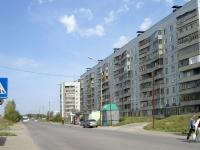 Новосибирск, улица Земнухова, дом 11. многоквартирный дом