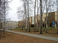Novosibirsk, st Zolotodolinskaya, house 11. exhibition center