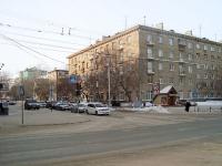 Новосибирск, улица Достоевского, дом 9. многоквартирный дом