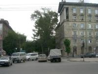 Новосибирск, улица Достоевского, дом 14. многоквартирный дом