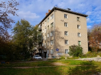 Новосибирск, улица Достоевского, дом 10. многоквартирный дом
