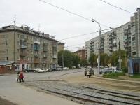 Новосибирск, улица Серебренниковская, дом 3. многоквартирный дом