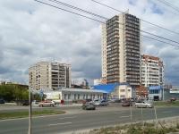 Новосибирск, улица Серебренниковская, дом 4/1. многоквартирный дом