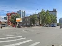 Новосибирск, улица Серебренниковская, дом 36. колледж Новосибирский педагогический колледж №1 им. А.С. Макаренко