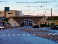 Novosibirsk, st Serebrennikovskaya. bridge
