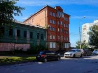 Новосибирск, улица Коммунистическая, дом 12. многоквартирный дом