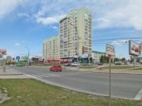 Новосибирск, улица Ипподромская, дом 44. многоквартирный дом