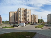 Новосибирск, улица Вознесенская (п. Кольцово), дом 1. многоквартирный дом