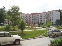 Новосибирск, улица Кольцово пос (п. Кольцово), дом 6. многоквартирный дом