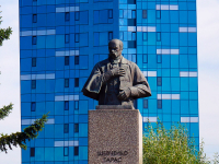 Novosibirsk, st Shevchenko. monument