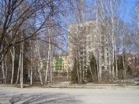 Новосибирск, улица Ильича, дом 1. многоквартирный дом