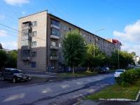 Новосибирск, улица Октябрьская, дом 10. многоквартирный дом