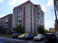 Новосибирск, улица Октябрьская, дом 10А. многоквартирный дом
