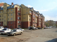 Novosibirsk, st Lermontov, house 43. Apartment house