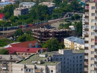Novosibirsk, st Kolyvanskaya. building under construction