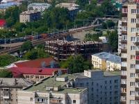 Новосибирск, улица Колыванская. строящееся здание