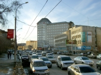 Новосибирск, улица Писарева, дом 1. офисное здание
