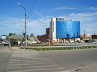 """Новосибирск, улица Писарева, дом 102. офисное здание """"Парус"""""""
