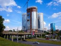 Новосибирск, улица Сибревкома, дом 9В. строящееся здание