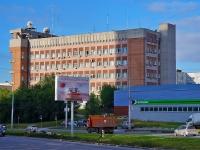 Новосибирск, улица Сибревкома, дом 7. офисное здание