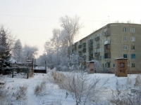 Novosibirsk, st Kuprin, house 10. Apartment house