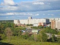 Новосибирск, улица Красных Зорь, дом 1. многоквартирный дом