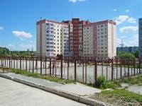 Новосибирск, улица Краузе, дом 1. многоквартирный дом