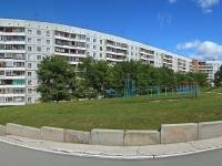 Новосибирск, улица Курчатова, дом 37. многоквартирный дом