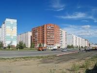 Novosibirsk, st Svechnikov, house 1. Apartment house