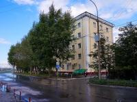 新西伯利亚市, Sverdlov st, 房屋 3. 公寓楼