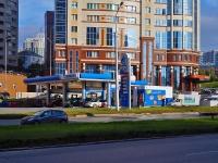 """新西伯利亚市, 加油站 """"Газпромнефть-Новосибирск"""", Sverdlov st, 房屋 18"""