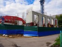 Новосибирск, улица Чаплыгина, дом 115. строящееся здание