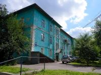 Новосибирск, улица Чаплыгина, дом 117А. многоквартирный дом