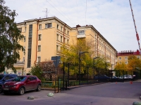 Novosibirsk, st Romanov, house 35. Apartment house