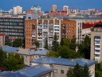 Novosibirsk, st Romanov, house 36. Apartment house
