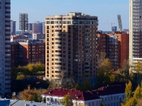 Novosibirsk, st Romanov, house 55. Apartment house