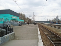 Novosibirsk, st Lazarev, house 9А. railway station
