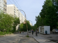 Novosibirsk, st Adrien Lezhen, house 5. Apartment house