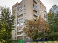 Новосибирск, улица Адриена Лежена, дом 8. многоквартирный дом