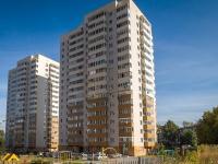 Новосибирск, улица Адриена Лежена, дом 9/2. многоквартирный дом
