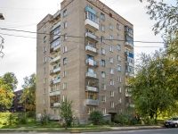 Novosibirsk, st Adrien Lezhen, house 10. Apartment house