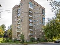 Новосибирск, улица Адриена Лежена, дом 10. многоквартирный дом