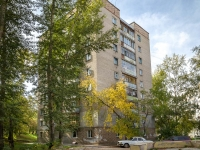 Novosibirsk, st Adrien Lezhen, house 12. Apartment house