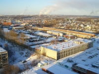Novosibirsk, st Lipetskaya, house 25/3. industrial building