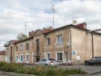 Novosibirsk, st Natsionalnaya, house 3. Apartment house