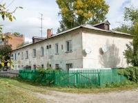 Novosibirsk, st Natsionalnaya, house 19. Apartment house