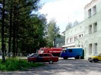 Новосибирск, улица Ползунова, дом 5 к.2. пожарная часть
