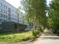 Новосибирск, улица Ползунова, дом 10. общежитие