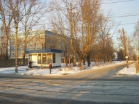 Novosibirsk, alley Pochtovy 3-y, house 21. school